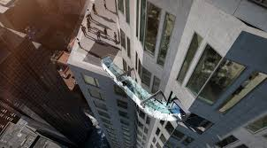 us bank tower in los angeles to open glass skyslide time