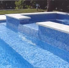 Npt Pool Tile Palm Desert by Lightstreams All Glass Pool Tile Peacock Blue And Aqua Pool