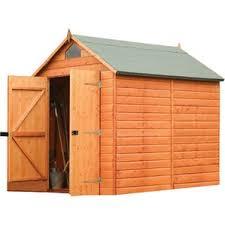 6x8 Wooden Storage Shed by Wood Storage Sheds You U0027ll Love Wayfair