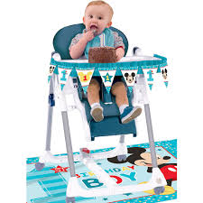 1st Birthday Mickey Mouse High Chair Decorating Kit 2pc Minnie Mouse Room Diy Decor Hlights Along The Way Amazoncom Disneys Mickey First Birthday Highchair High Chair Banner Modern Decoration How To Make A With Free Img_3670 Harlans First Birthday In 2019 Mouse Inspired Party Supplies Sweet Pea Parties Table Balloon Arch Beautiful Decor Piece For Parties Decorating Kit Baby 1st Disney