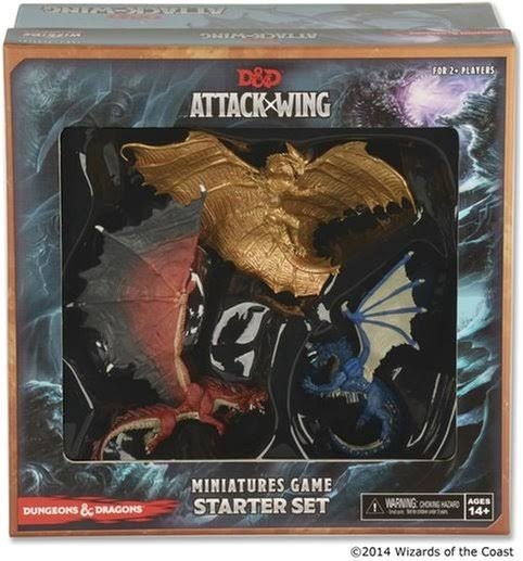 D&D Attack Wing Miniatures Game Starter Set