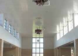 Rulon Suspended Wood Ceilings by Baxter Water Treatment Plant Rulon International Inc