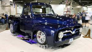 1955 Ford F-100 Takes Home Grand National Gold - Ford-Trucks 1955 Ford Pick Up Street Rod Youtube Panel Truck Hot Network Pickup Stock Photos Mikes Musclecars On Twitter F100 Pick Up For Sale 312ci Resto Mod F1201 Louisville 2016 Hits All The Right Nostalgic Notes Fordtruckscom Ford 27500 Pclick Custom W 460 Racing Engine 2107189 Hemmings Motor News