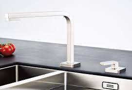 robinet cuisine escamotable mitigeur nickel brossé franke quantum two bec escamotable