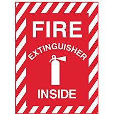 Fire Extinguisher Mounting Height Requirements by Zing 1890 Zing Safety Sign Fire Extinguisher Inside With Picto