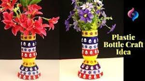 0640 Plastic Bottles Handicraft