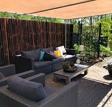 extrem stabiler bambus sichtschutz zaun xl 180 cm x 100 cm nature