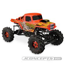100 J And J Truck Bodies Amazoncom Concepts Bog Hog Mega Clear Body Axial SMT10