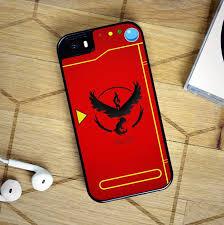 Pokemon GO Valor Team Pokedex fashion cell phone case for iphone 4