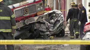 100 Fire Truck Accident PHOTOS Truck Accident In West Philadelphia 6abccom