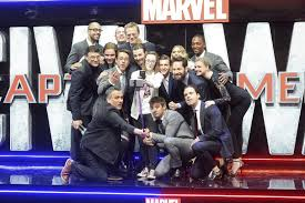 Chris Evans Robert Downey Jr Anthony Mackie Sebastian Stan Jeremy Renner