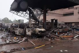Explosion At Gas Station In Ghana's Capital Kills Dozens   HuffPost Anthem Insulation Truck Fire Tanker Truck Driver Dies After Explosion Causes 3alarm Fire Near Many Feared Dead In Lagos Petrol Tanker Nigeria The Three Injured Gnville Daily Gazette Incredible Moment Gas Accident Turns Highway Into A Raging Gas Explodes On Freeway No Injuries Wtop Invesgation Continues Speedway Spill That Caused Italian 2 Scores Hurt Pueblo Massive Oil Downs Power Lines Long Island 3 Killed Dozens Bologna Cnn Video Explosion At Station In Ghanas Capital Kills Dozens Huffpost