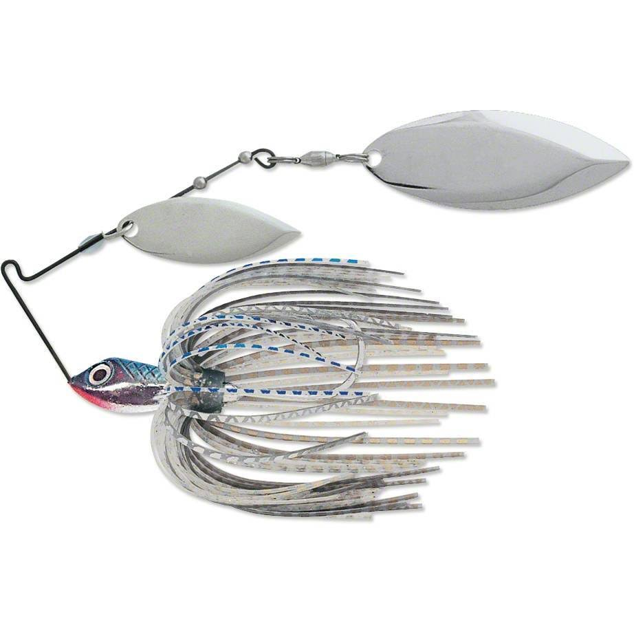 Terminator S38ww42nn Super Stainless Spinnerbait, 3/8 oz, Blue