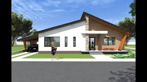 100 Bungalow Architecture House Design 3D Model A27 Modern S By Romanian Architect