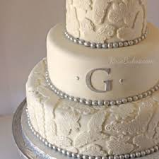 Silver Lace Wedding Cake Construction Dump Truck Grooms