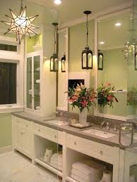 pendant lighting over bathroom vanity and brilliant with designs