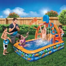 Water Park Slide Pool Inflatable Basketball Hoop Backboard Bounce ... Water Park Inflatable Games Backyard Slides Toys Outdoor Play Yard Backyard Shark Inflatable Water Slide Swimming Pool Backyards Trendy Slide Pool Kids Fun Splash Bounce Banzai Lazy River Adventure Waterslide Giant Slip N Party Speed Blast Picture On Marvellous Rainforest Rapids House With By Zone Adult Suppliers