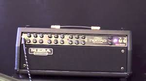 Mesa Boogie Cabinet 2x12 by Mesa Boogie Nomad 55 Amp Head Demo With Blackstar S1 2x12 Cab