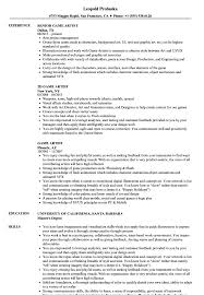 Game Artist Resume Samples | Velvet Jobs Makeup Artist Resume Sample Monstercom Production Samples Templates Visualcv Graphic Free For New 8 Template Examples For John Bull Job 10 Rumes Downloads Mac Why It Is Not The Best Time 13d Information Awesome Cv
