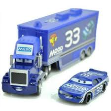 100 Lightning Mcqueen Truck Jual 2PcsLot Cars McQueen The King Mark Diecast
