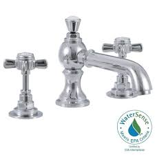 Home Depot Bathroom Faucets Chrome by Elizabethan Classics Wiltshire 8 In Widespread 2 Handle Mid Arc
