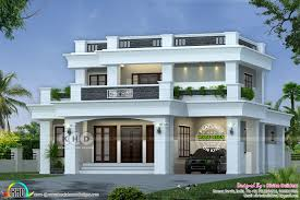 100 Modern House Cost 40 Lakhs Cost Estimated Decorative Flat Roof Home Room Design