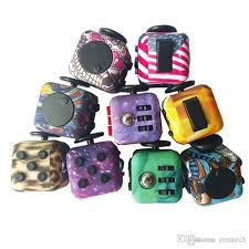 2018 Amercia Flag Camouflage Led Fidget Cube With Decompression Toy Cubes The WorldS First American Toys From Crestech