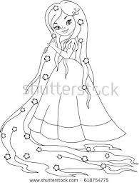 Rapunzel Coloring Page Princess Disney Pages To Print