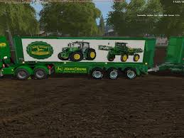 JOHN DEERE TRUCK / TRAILERS V2.0.0.0 Mod - Farming Simulator 17 Mod ... Amazoncom Ertl Colctibles John Deere 460e Dump Truck Toys Games Skin Mod Pack 2 American Simulator Mod Ats Skin For Peterbilt 579 Mods Truck 250dii Price 133759 2011 Articulated 15978 Semi With Grain Hauler Trailer Ebay 2007 400d Articulated Haul Item L3172 S Antique Tractor On Transport Flatbed Florida Stock Tomy 15 Inch Big Scoop Sand Tools 1 Mega Bloks Servmart 250d Adt 40729 Run Youtube Tractor And Moc Parts Express