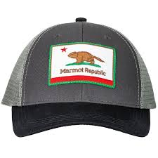 marmot kid u0027s marmot republic trucker hat