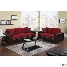Ragusa 2 Pieces Sofa Set In Floral Print Fabric