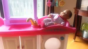 Step2 Furniture Toys by Step2 Love And Care Deluxe Nursery Youtube