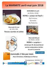 atelier cuisine centre social mairie d arnay le duc atelier cuisine à arnay le duc
