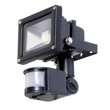10W LED Flood Light Security Light PIR Motion Sensor TORCHSTAR