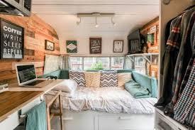 RV Camper Vintage Bedroom Interior Design Ideas 16