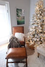 Grandin Road White Christmas Tree by Deck The Walls Living Room Our Vintage Farmhouse U2014 Our