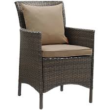Conduit Outdoor Patio Wicker Rattan Dining Armchair In Brown And Mocha Modway Endeavor Outdoor Patio Wicker Rattan Ding Armchair Hospality Kenya Chair In Black Desk Chairs Byron Setting Aura Fniture Excellent For Any Rooms Bar Harbor Arm Model Bhscwa From Spice Island Kubu Set Of 2 Hot Item Hotel Home Office Modern Garden J5881 Dark Leg