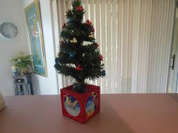 Small Fiber Optic Christmas Tree With Ornaments by Disney Fiber Optic 17