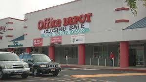 Roseburg s fice Depot closing