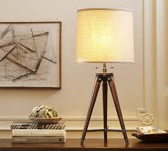 Pottery Barn Floor Lamp Assembly by Gibson Tripod Table Lamp Pottery Barn
