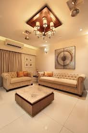 100 Flat Interior Design Images 3 BHK S The Oak Woods Background Living