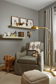 Safari Decor For Living Room by Nursery Glider In Nursery Transitional With Hanging Shelves Next