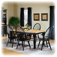 Country Dining Room Tables Great Sets With Black French