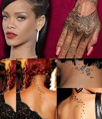 Tattoo Rihana Top 10 Best Female Celebrity
