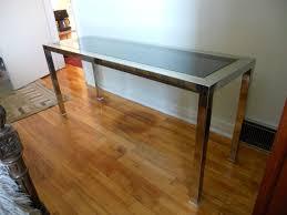 Kijiji Montreal Furniture Finds ChromeBrassConsoleTable