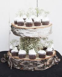 Wedding Cake Stand Rental Nyc Diy Floating Birch Rustic Chic