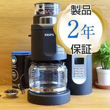 Craps Automatic Grinders Coffee Maker With Grinder Mill 10 Cup Krups KM7000 Grind And Brew Coffeemaker Black