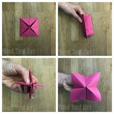 How To Make A Cootie Catcher Step By Instructions