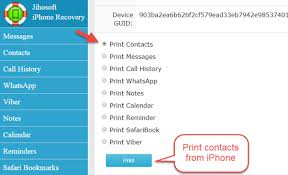 Can I print out contacts from my iPhone Quora