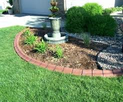Landscaping Border Stone Garden Edging Stones Home Depot Lawn Care
